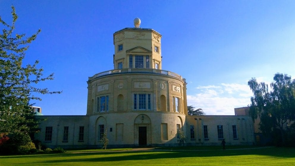 Radcliffe Observatory at Green Templeton College pictured by John Cairns in 2018