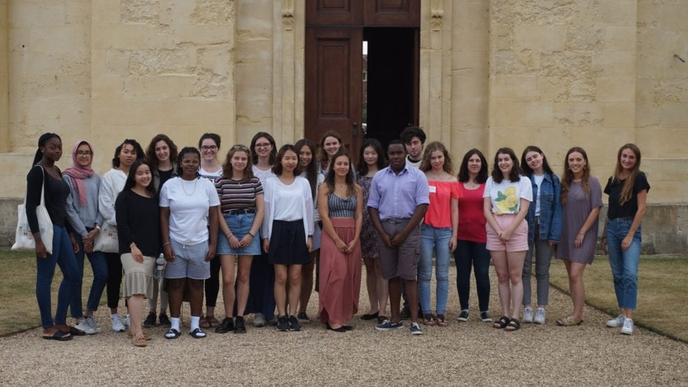 A group of participants from the Medical Humanities Summer School 2018 outside the Radcliffe Observatory