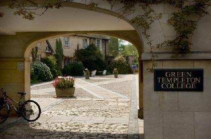 Green Templeton College lodge