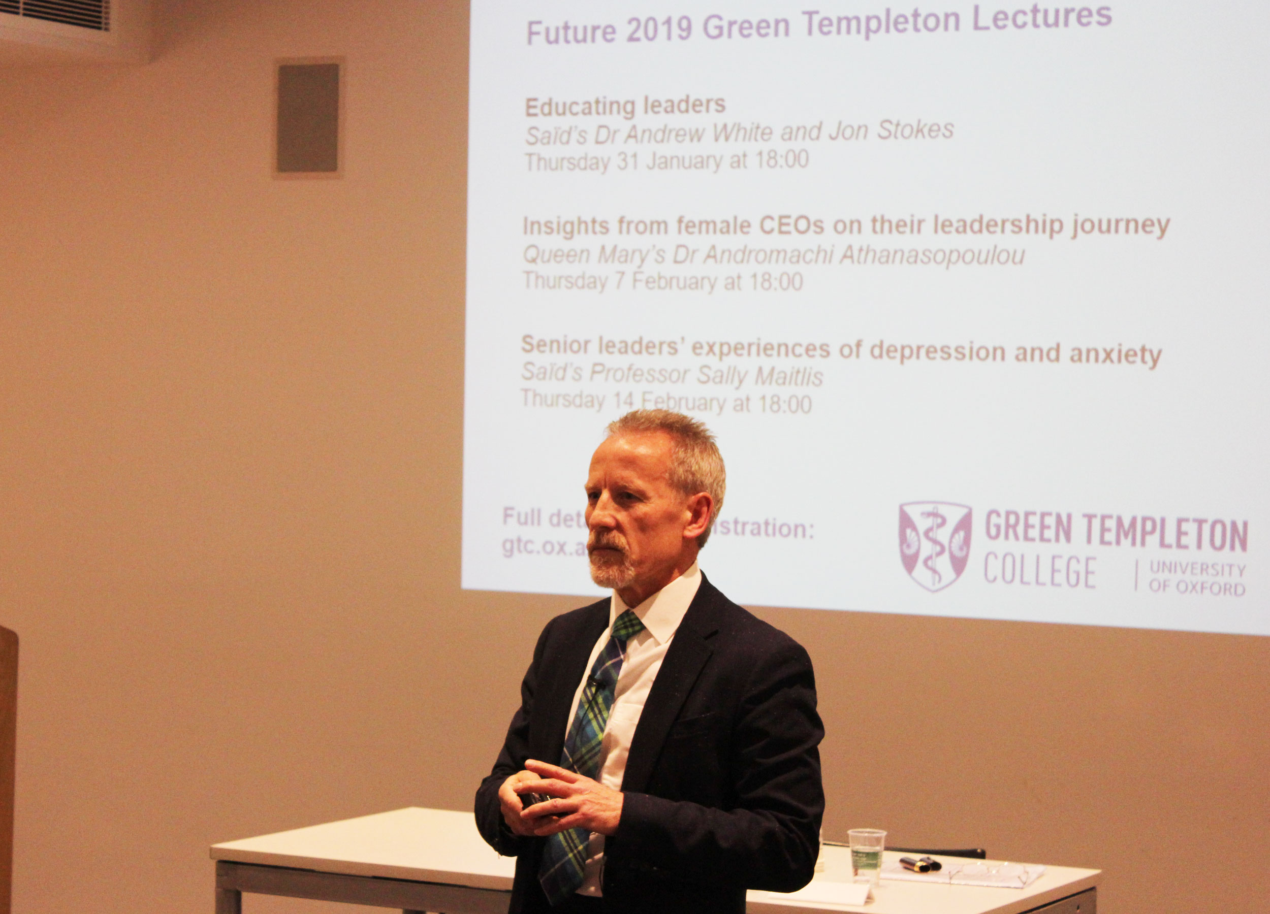 Keith Grint Lecture (c) Green Templeton College