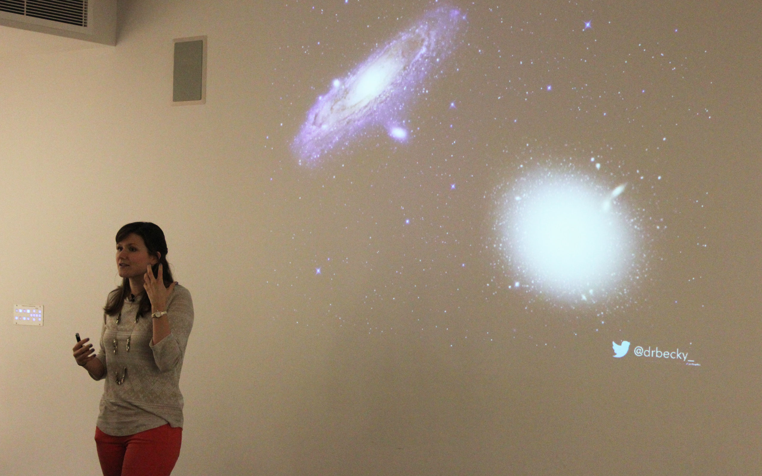 Dr Becky Smethurst delivers the final 2019 Astronomy For All Lecture on Galaxy Zoo. 27 February 2019
