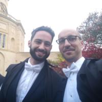 GCR Secretaries Ben Amies-Cull and Davide Bilardi