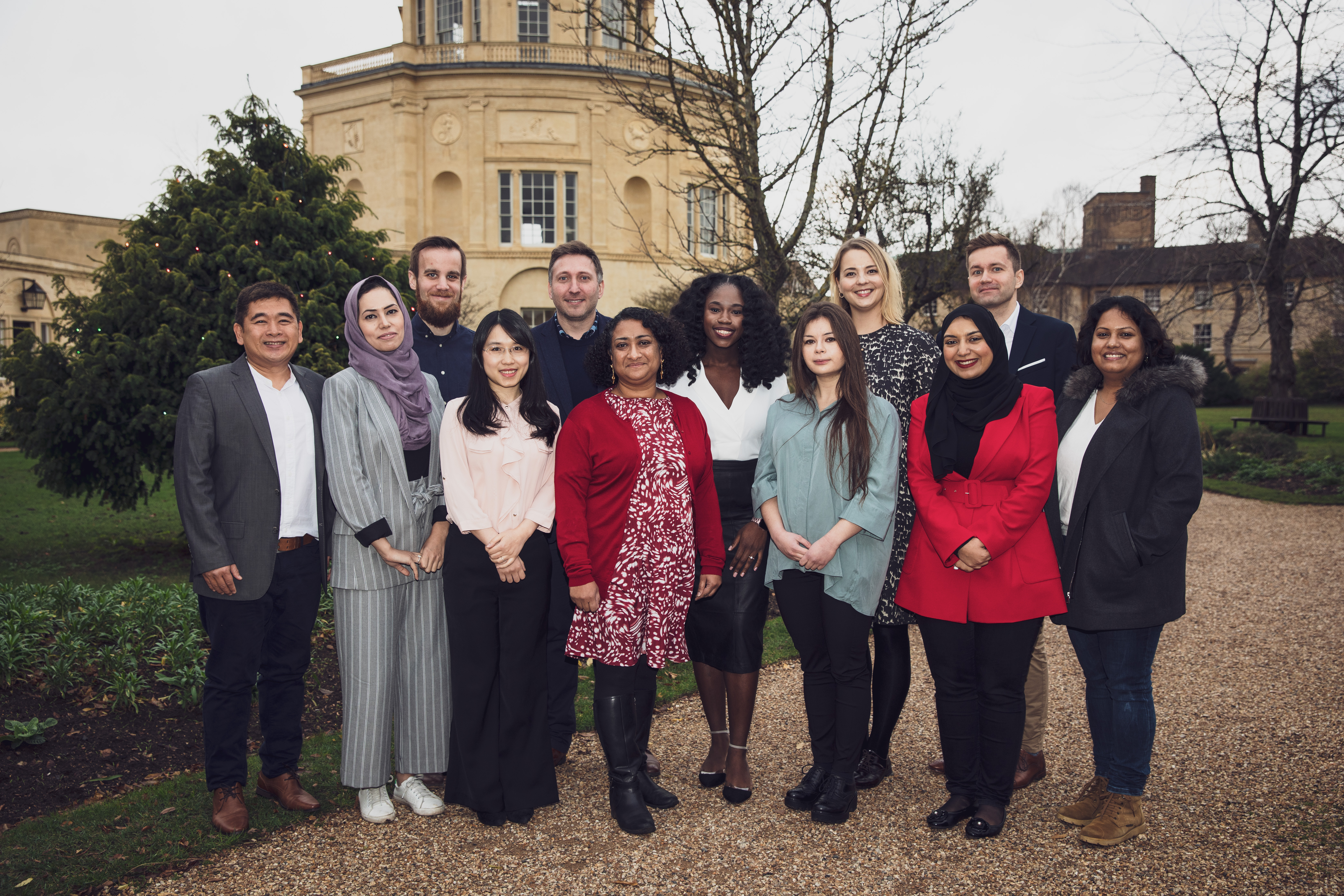 Reuters Institute for the Study of Journalism. Journalist Fellows in 2018 with Meera Selva