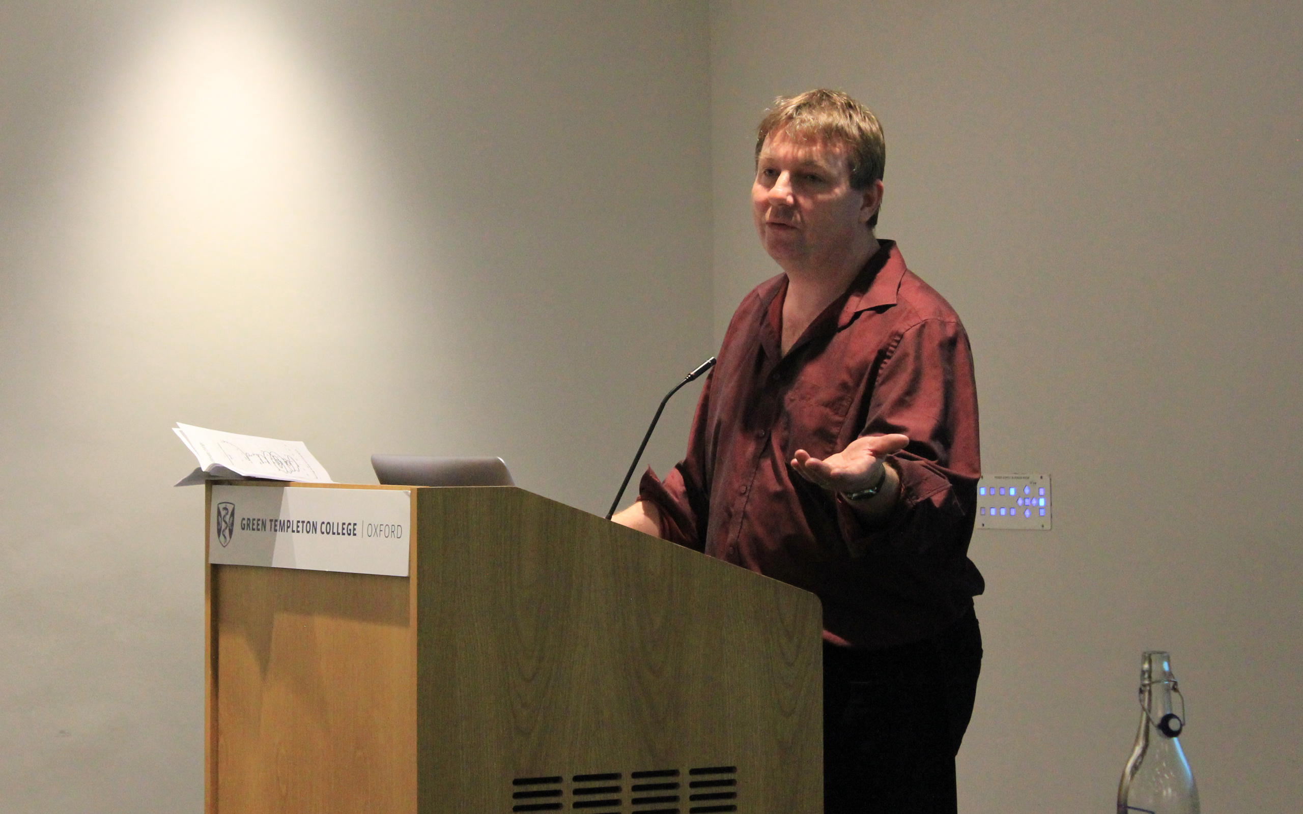 Danny Dorling presents at the inaugural Green Templeton Social Sciences Seminar Series, 6 February 2019
