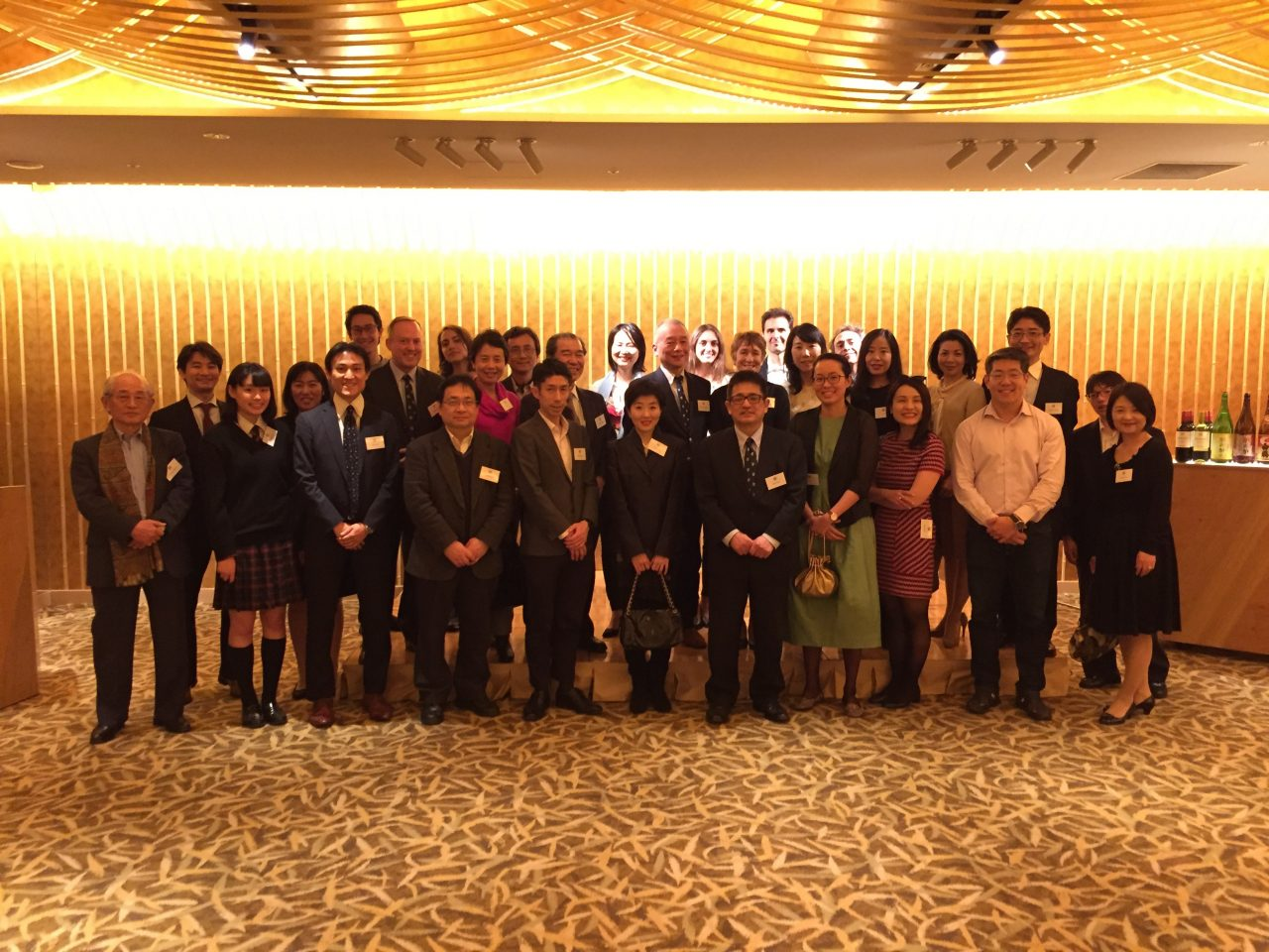 Professor Denise Lievesley hosts an alumni reception in Tokyo as part of the University of Oxford's Meeting Minds in Asia Alumni Weekend, 22 March 2019