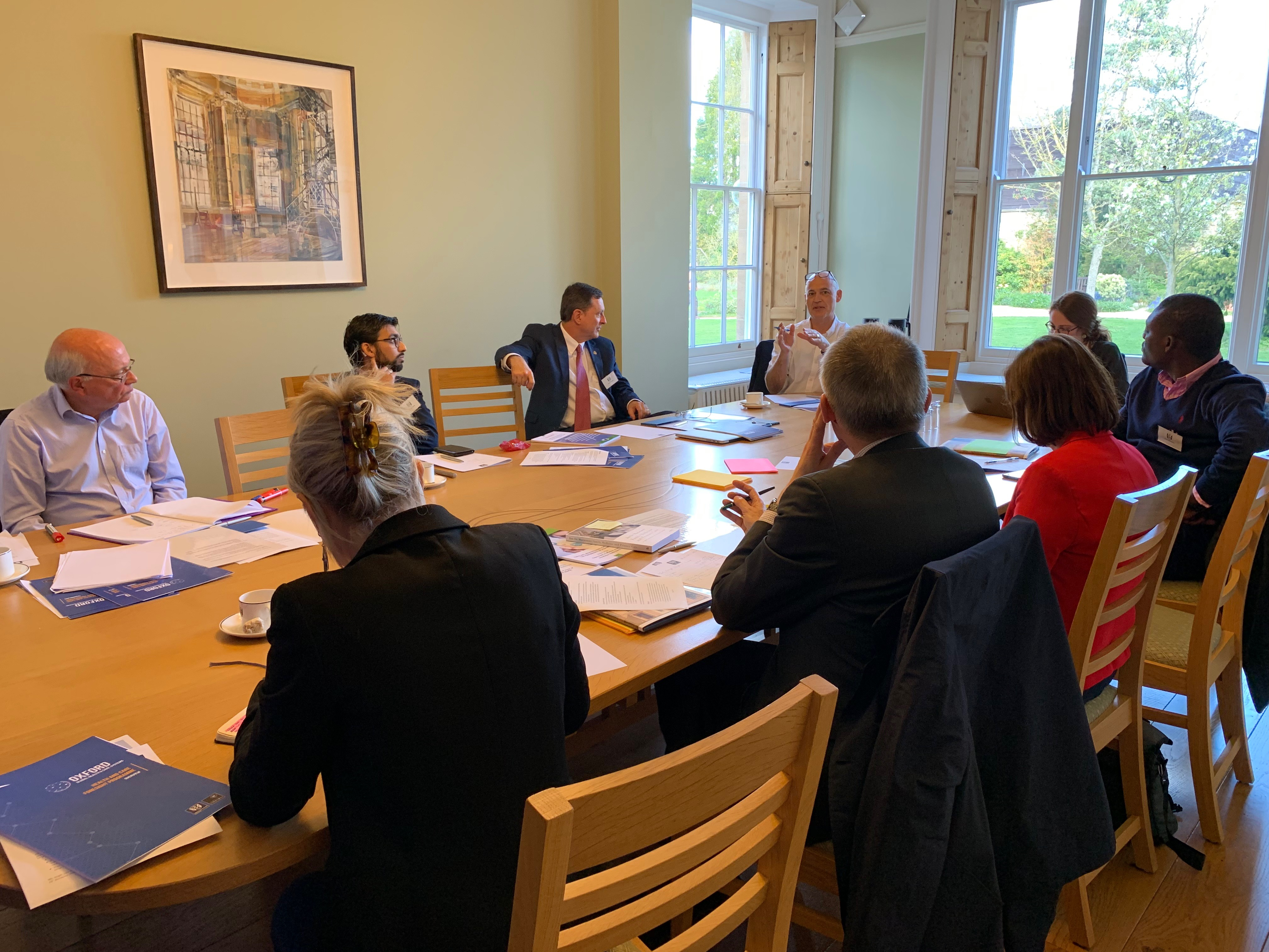 Foresight Pilot Workshop, held at Green Templeton College on 25 March 2019