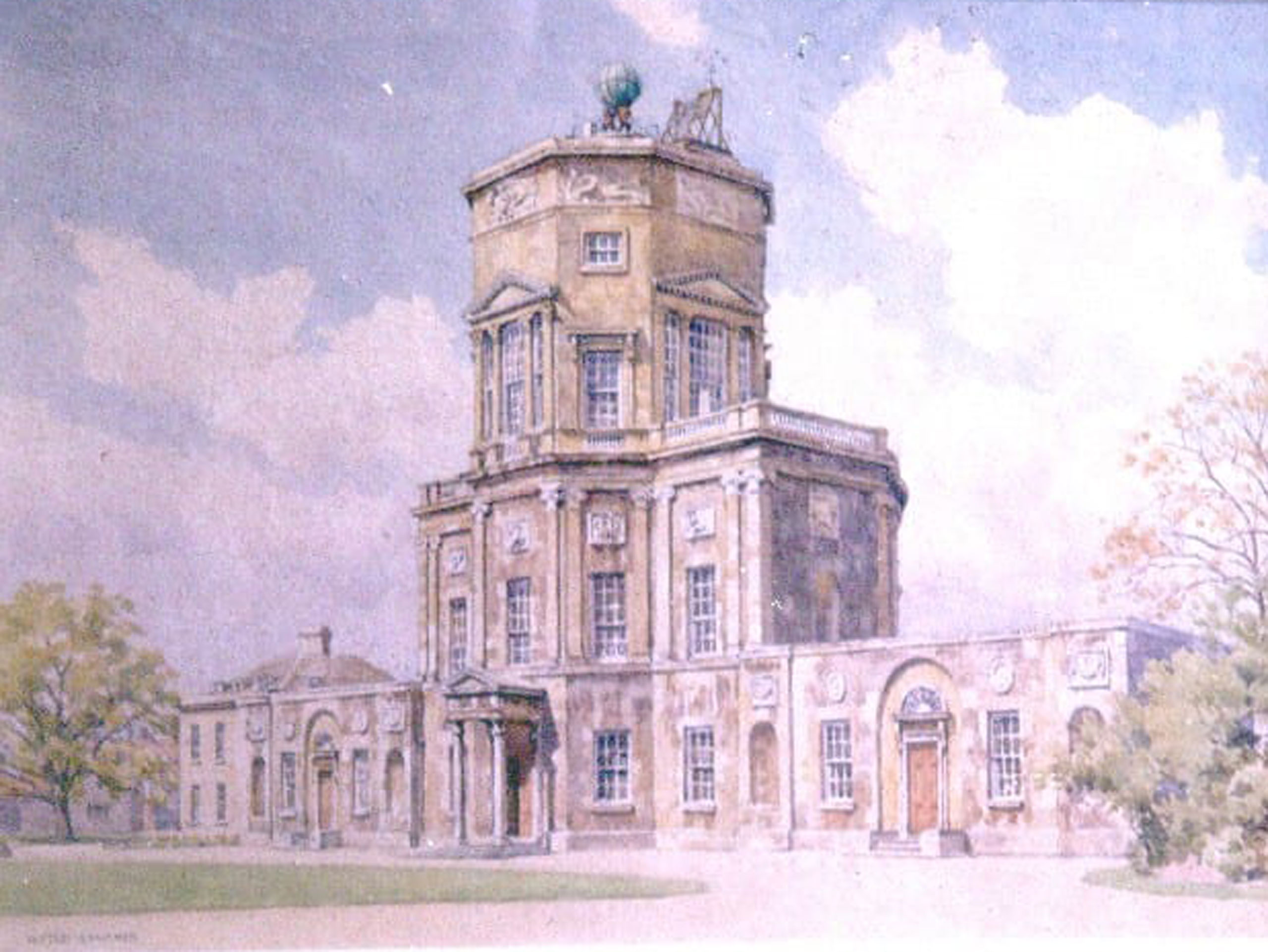 Sketch of the Radcliffe Observatory