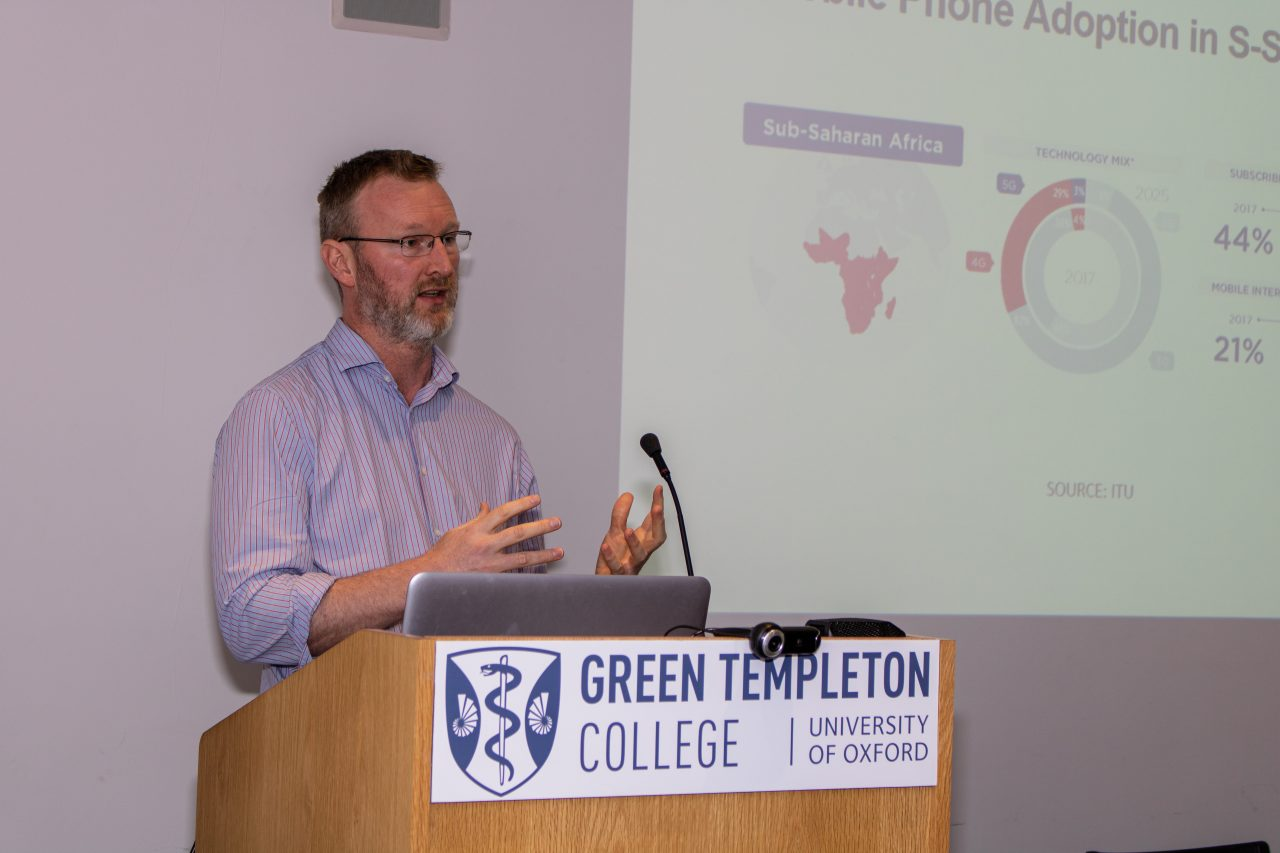 Innovations in Health speaker session at Human Welfare Conference: Chris Paton