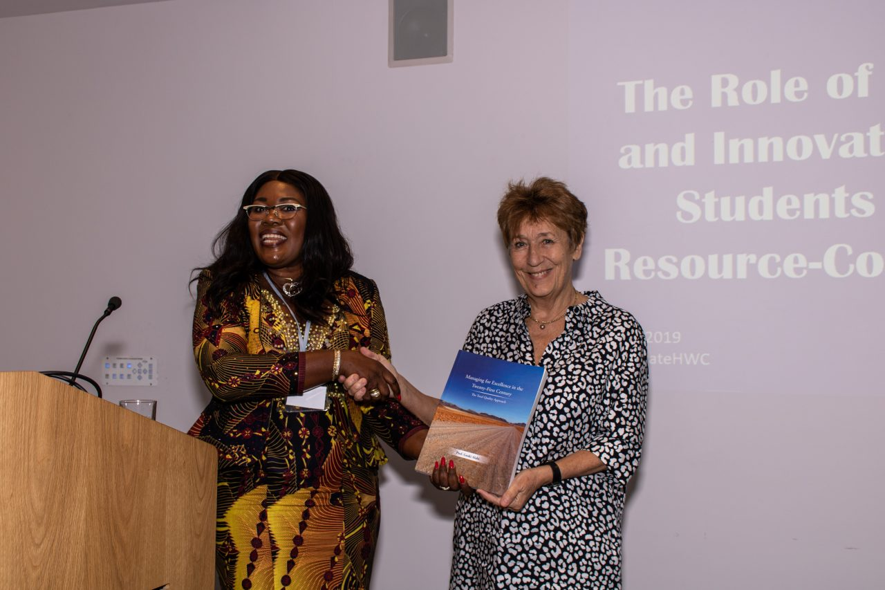 David Watson Memorial Lecture with Professor Mrs Goski Alabi and Green Templeton College Principal Denise Lievesley, Human Welfare Conference 2019