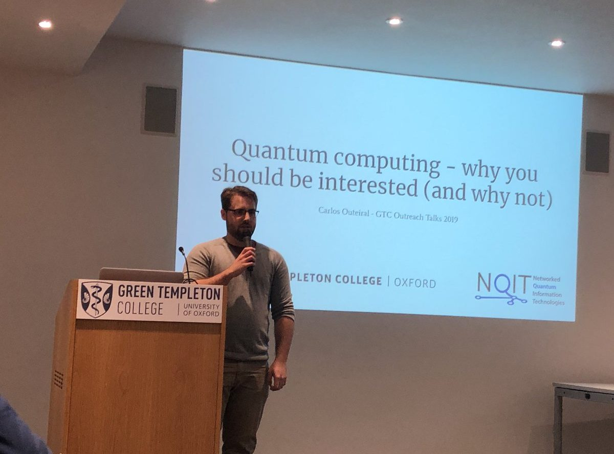Carlos Outeiral Outreach Talk on Quantum Computing
