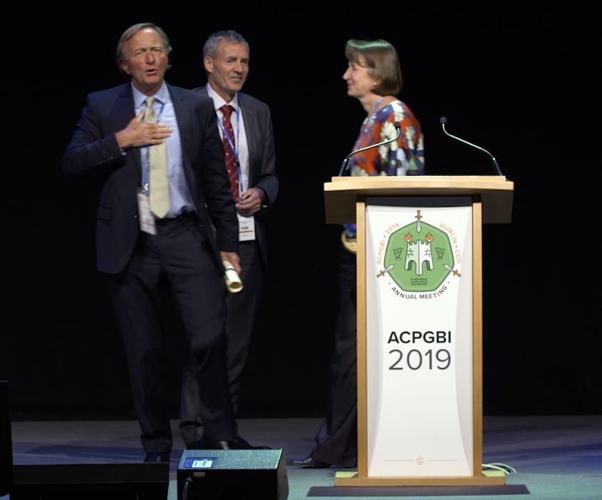 Green Templeton College Governing Body Fellow Professor Neil Mortensen receives Honorary Membership of ACPGBI, July 2019