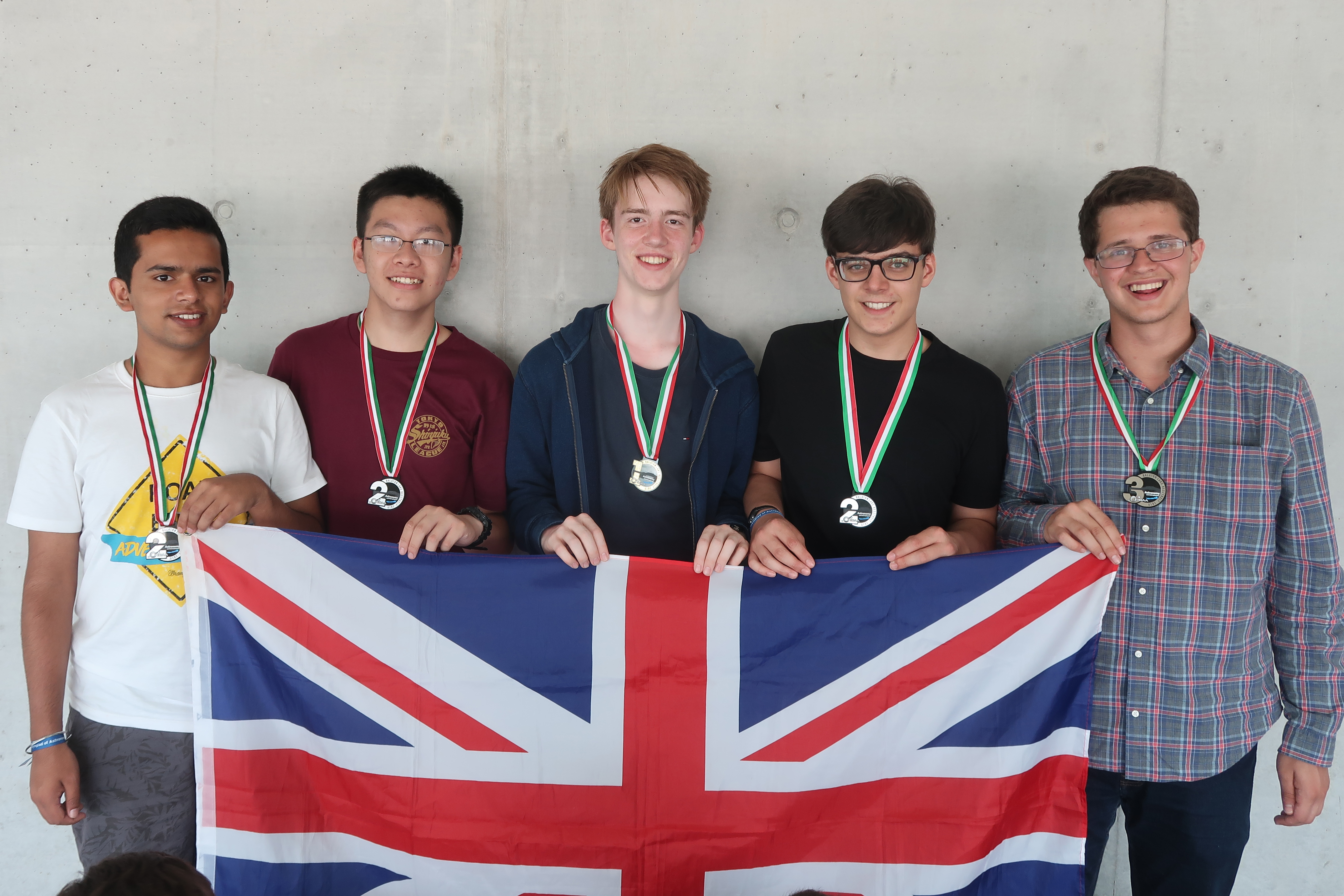 UK team at the International Olympiad on Astronomy and Astrophysics in Hungary, August 2019, led by Associate Fellow Charles Barclay