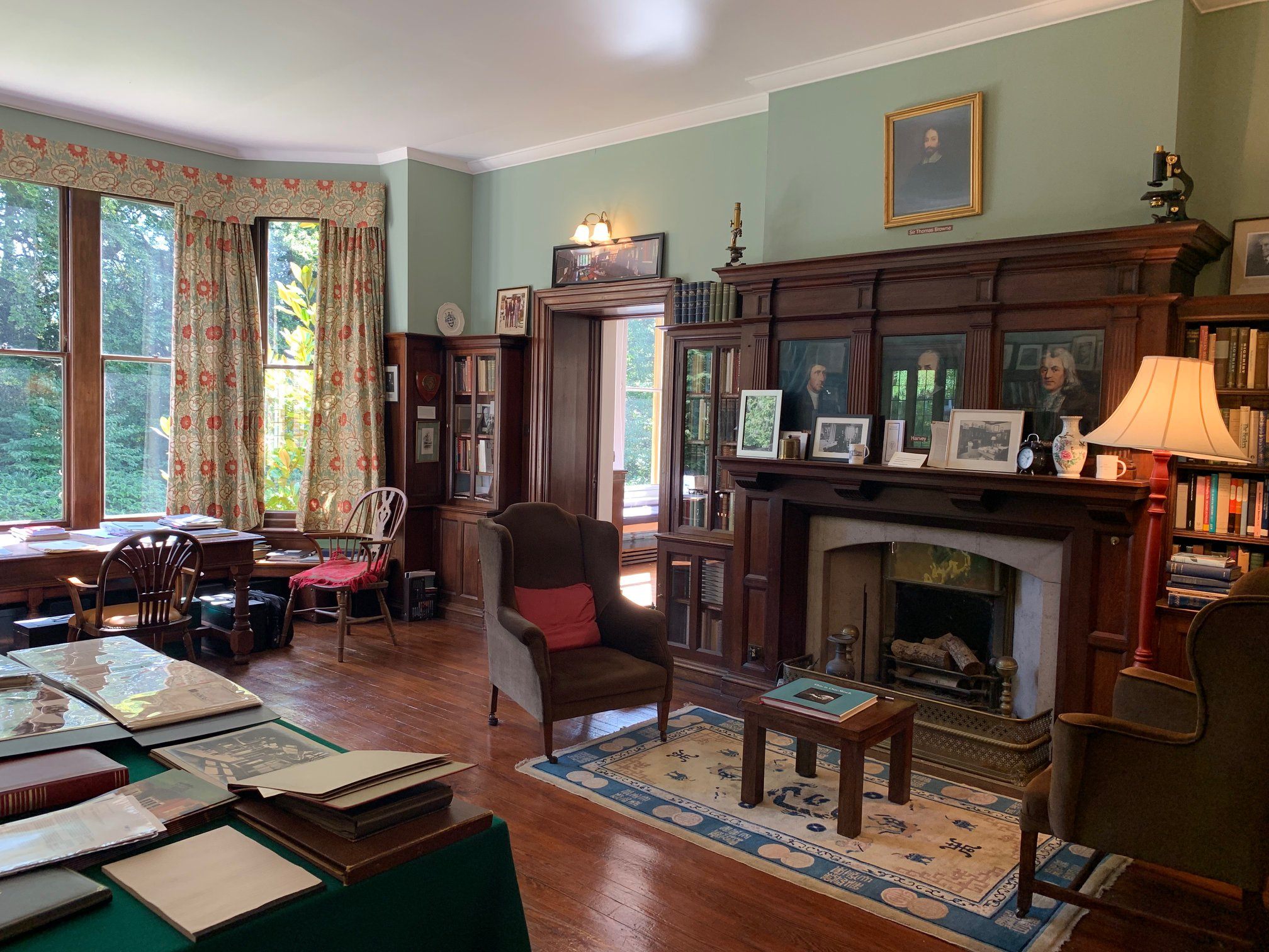 Osler's Library at 13 Norham Gardens during Oxford Open Doors 2019