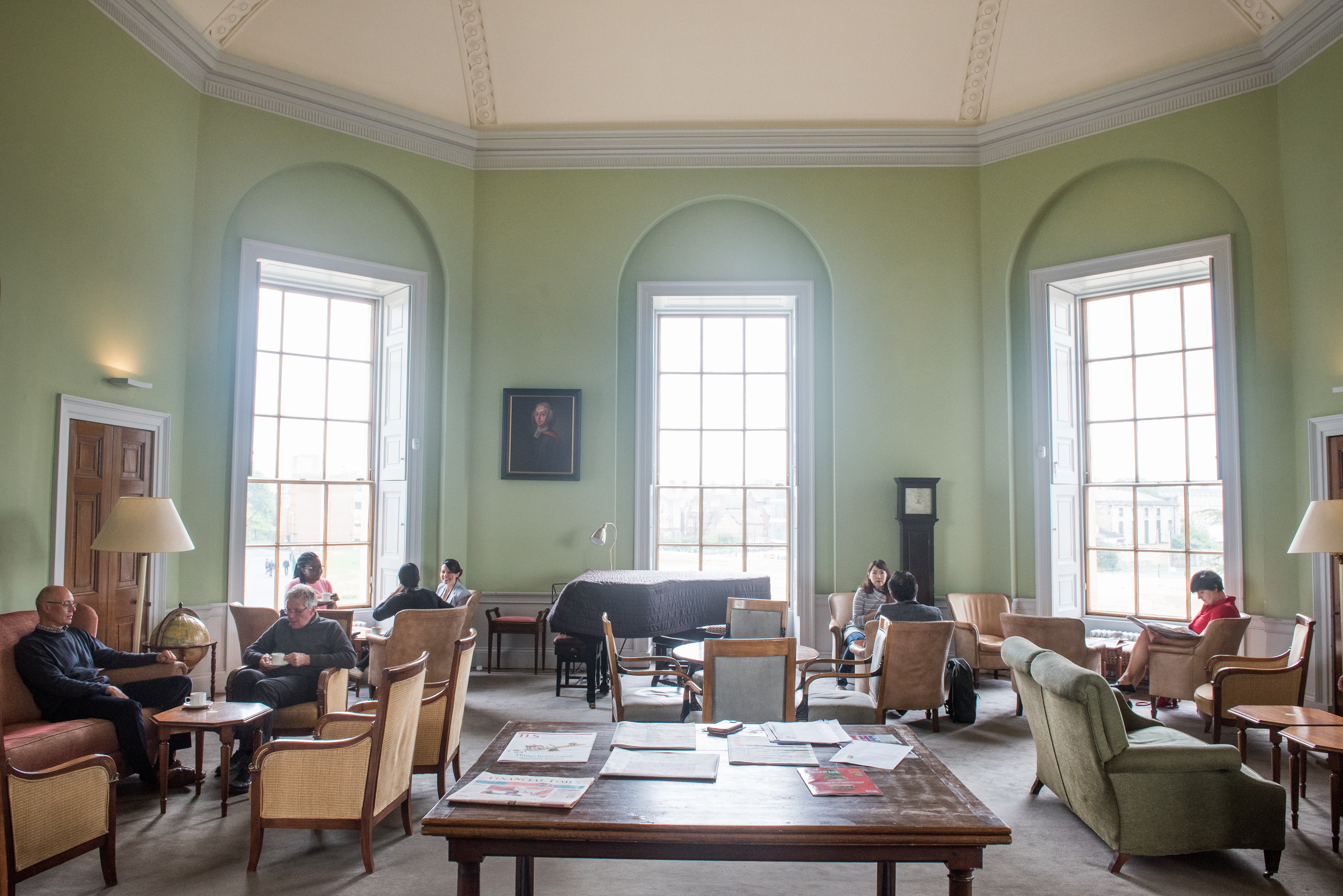 Radcliffe Observatory Common Room. Photo (c) John Cairns