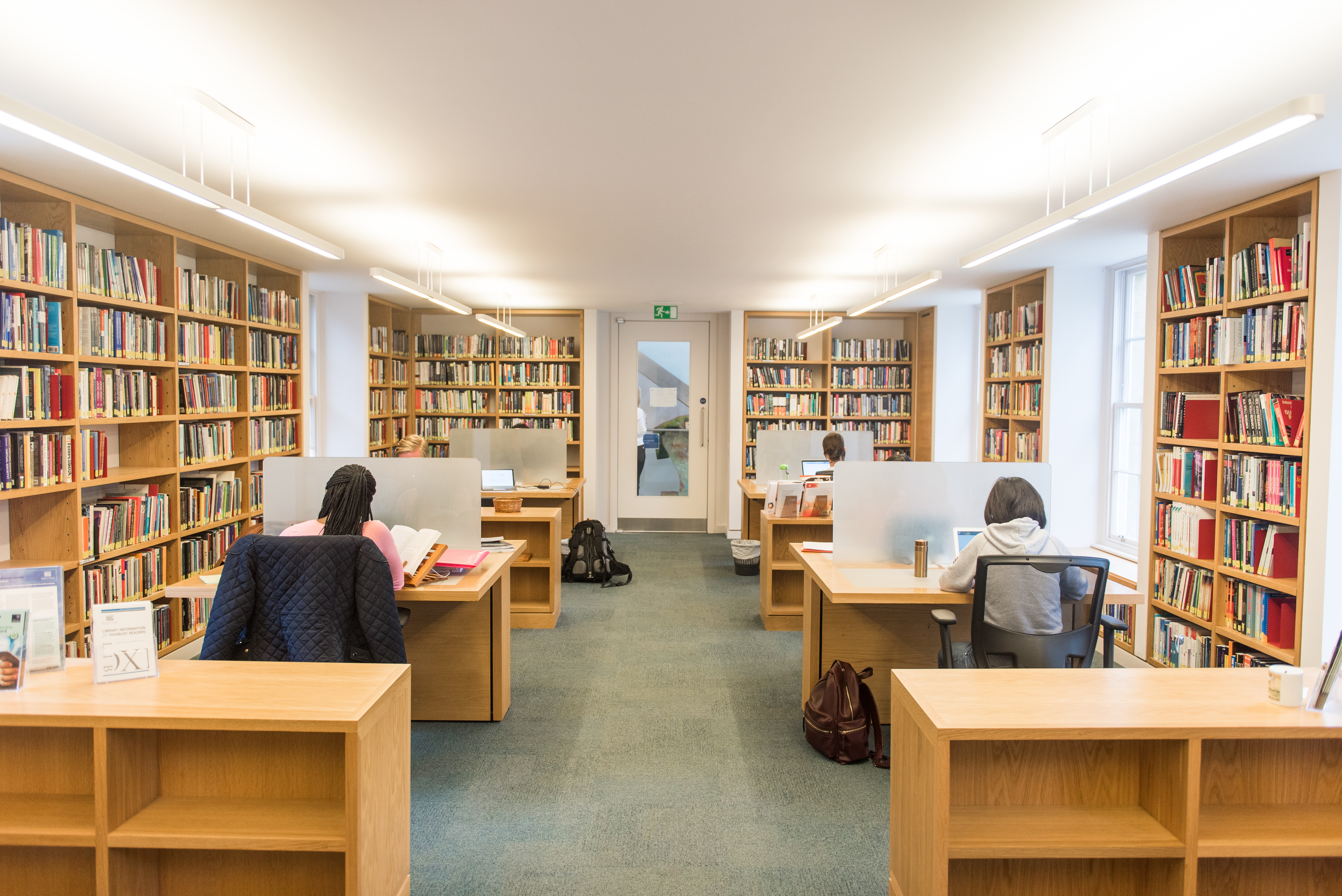 Green Templeton College Library. Photo (c) John Cairns