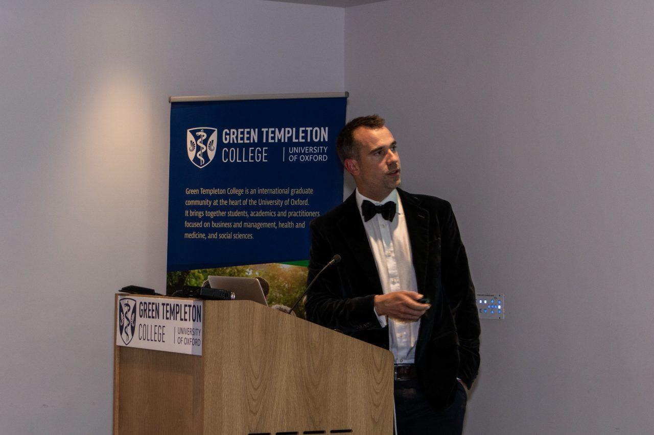 Chris van Tulleken - 40th Anniversary of the Founding of Green College, 20 September 2019