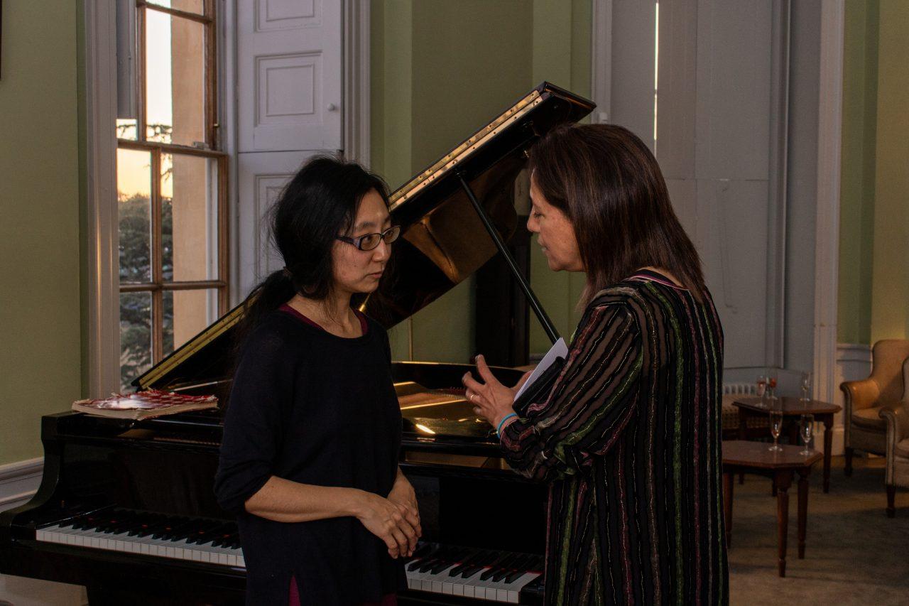 Maki Sekiya and Rebecca Surender- 40th Anniversary of the Founding of Green College, 20 September 2019