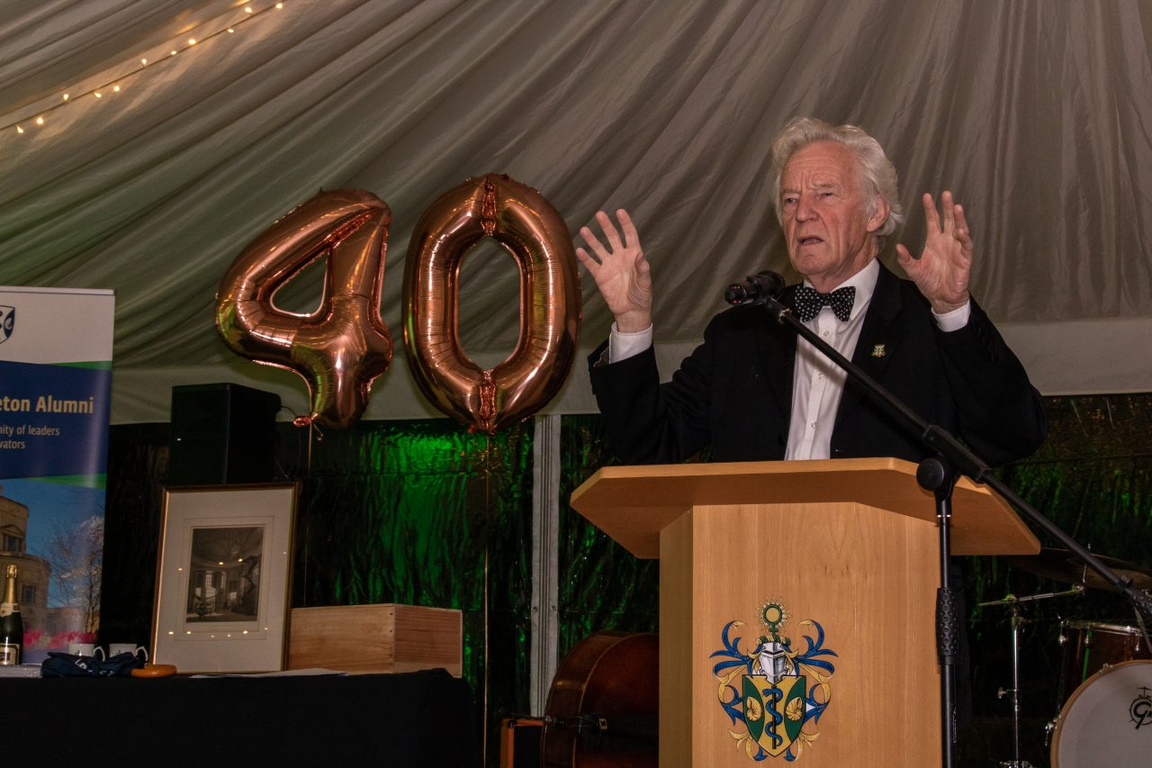 Sir Muir Gray - 40th Anniversary of the Founding of Green College, 20 September 2019