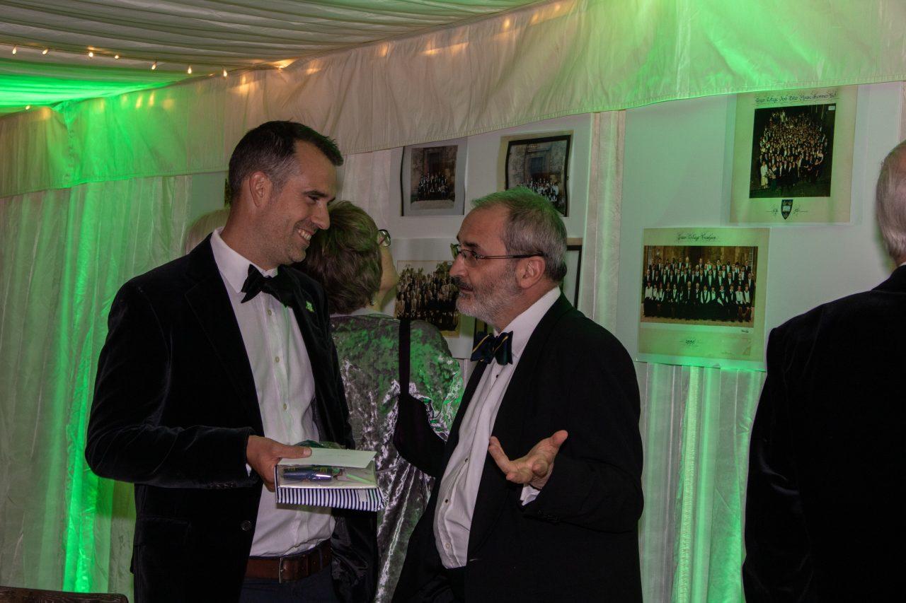 Laurence Leaver and Chris van Tulleken - 40th Anniversary of the Founding of Green College, 20 September 2019