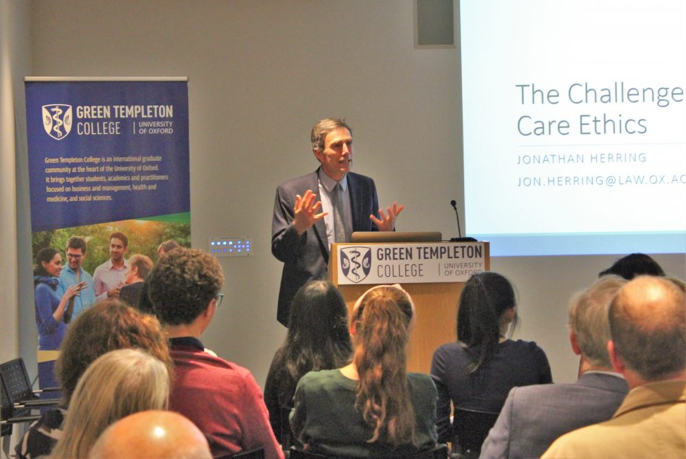 Sir John Hanson Memorial Lecture Explores Care Ethics And