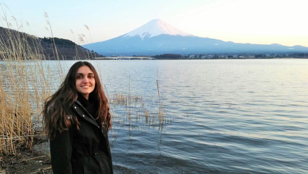Photo of Carlota ola Marsinach in Japan