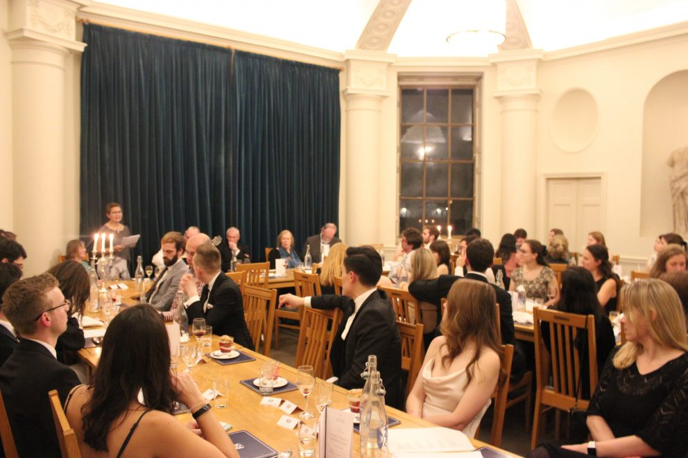 Burn S Night Celebrated With Dinner And Dancing Green Templeton College