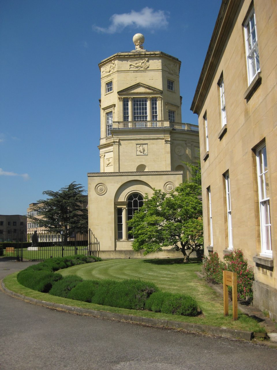 Side view of Radcliffe Observatory