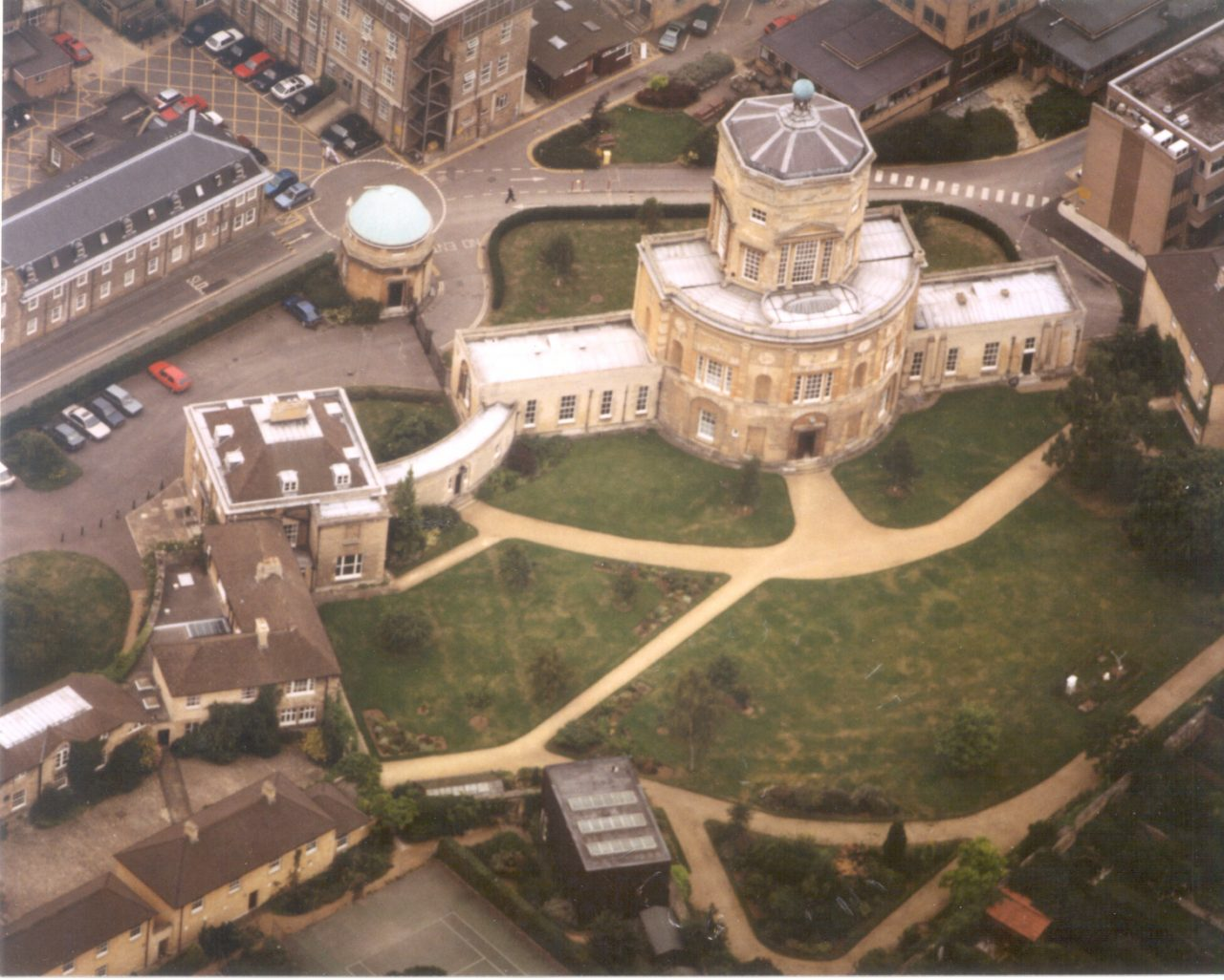 View From The Air Green Templeton In 1996