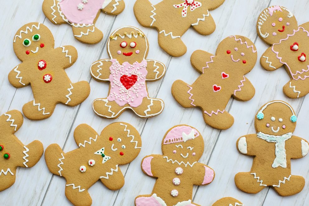 Selection Of Gingerbread Figures