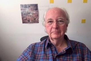 Philip Pullman portrait