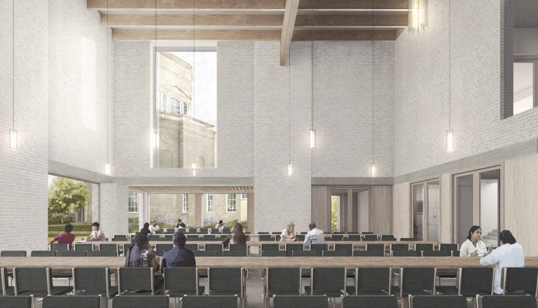 Artist's impression of Proposed Hall interior