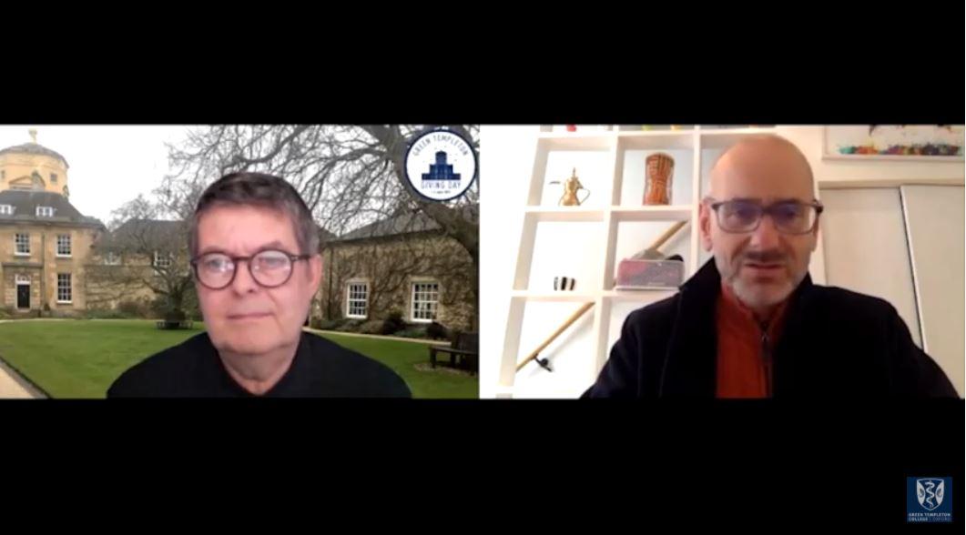 Michael Dixon and Roger Harrabin in conversation on Zoom